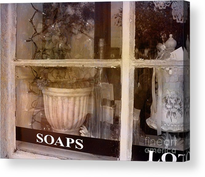 Retro Acrylic Print featuring the photograph Need Soaps by Susanne Van Hulst