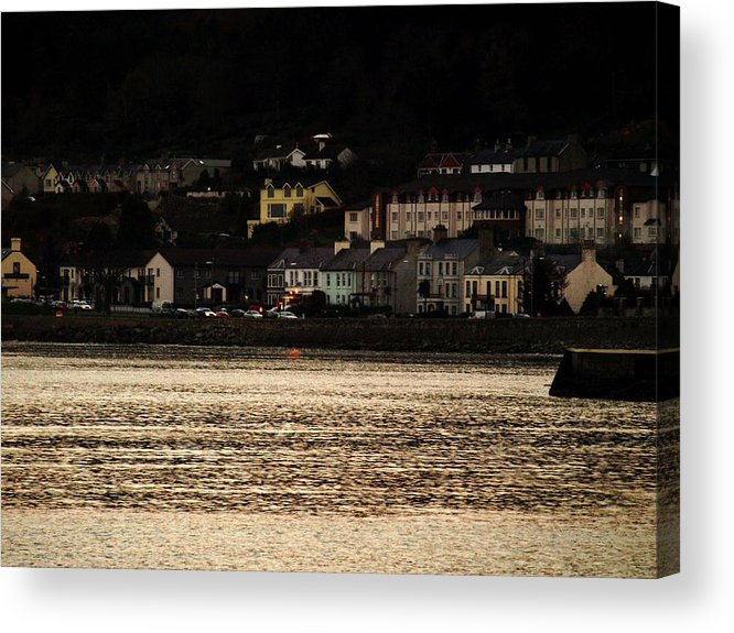 Ireland Acrylic Print featuring the photograph Newcastle Evening by Susan Grissom