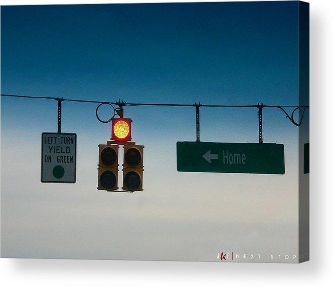 Light Acrylic Print featuring the photograph Next Stop by Jonathan Ellis Keys