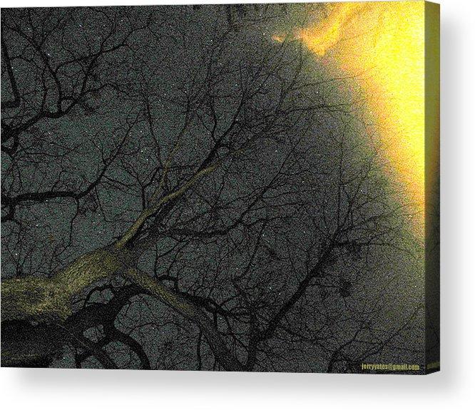 Night Acrylic Print featuring the photograph Night Sky by Gerard Yates