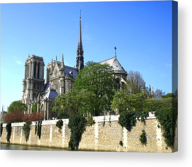 Notre Dame Acrylic Print featuring the photograph Notre Dame by Hans Jankowski