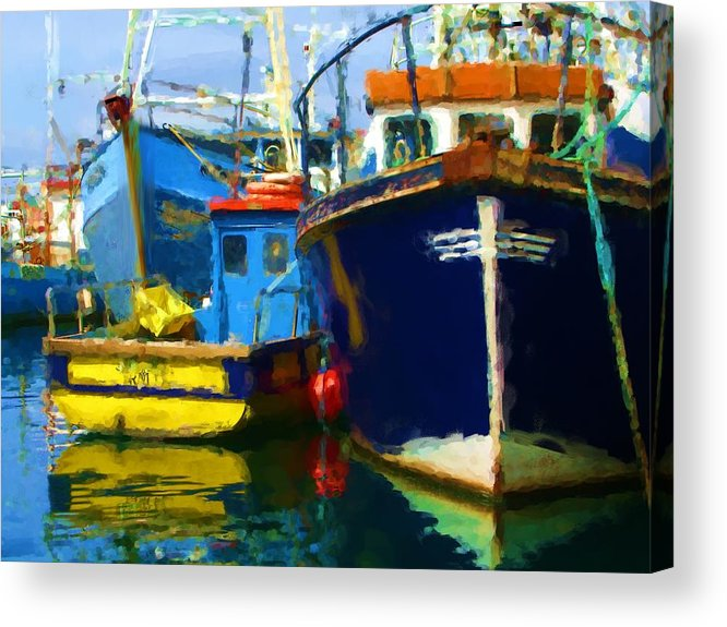 Acrylic Print featuring the painting Oh Ireland Where My Heart Is by Jonathan Galente