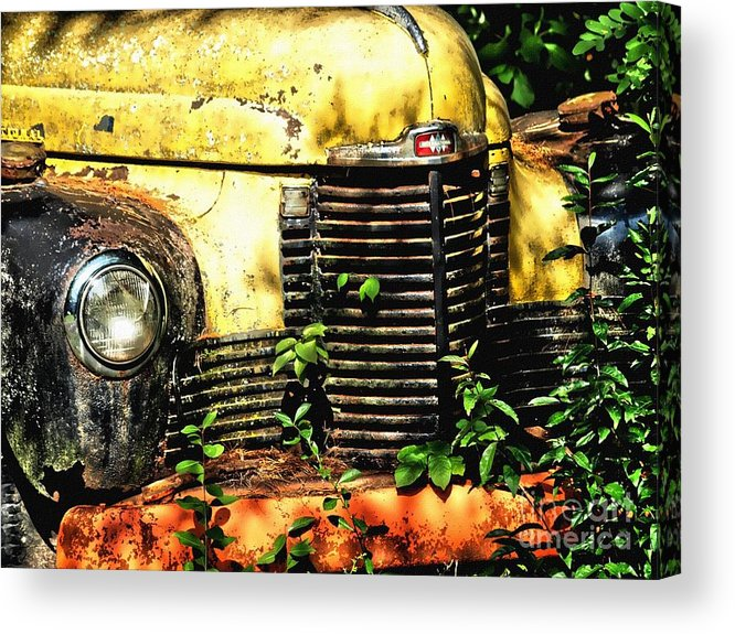 Acrylic Print featuring the photograph Old Transportation by Kathy Jennings
