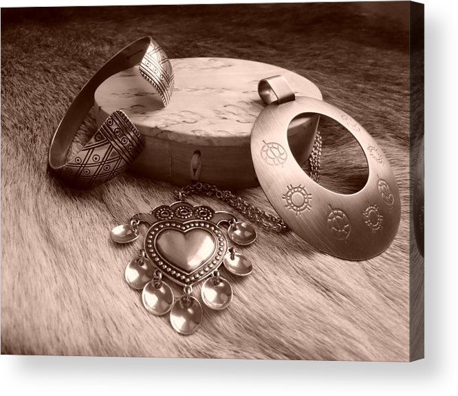 Viking Era Acrylic Print featuring the photograph Old Viking Designs by Merja Waters