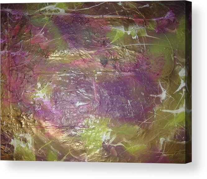 Soul Acrylic Print featuring the painting Our Ruthless Soul by Paula Andrea Pyle