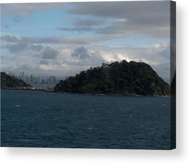 Landscape Acrylic Print featuring the photograph Panama City by Janet Hall