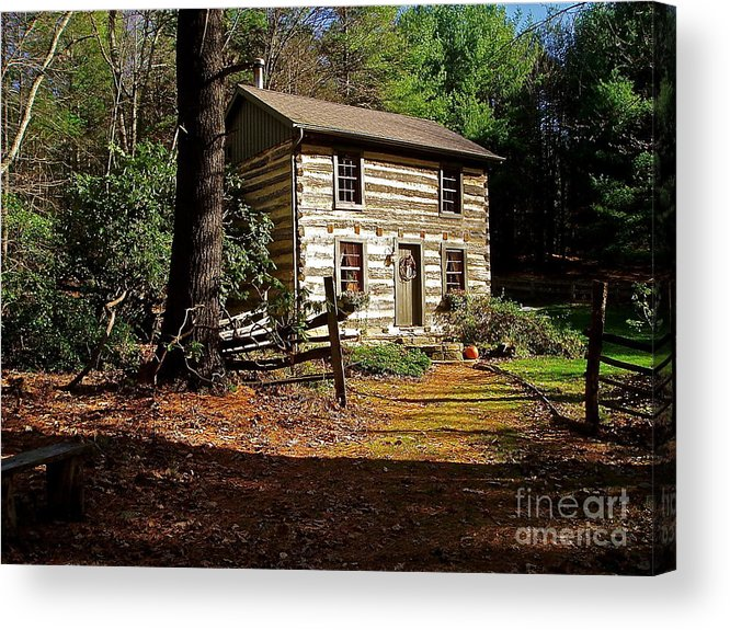 Cabin Acrylic Print featuring the photograph Paradise by E Robert Dee