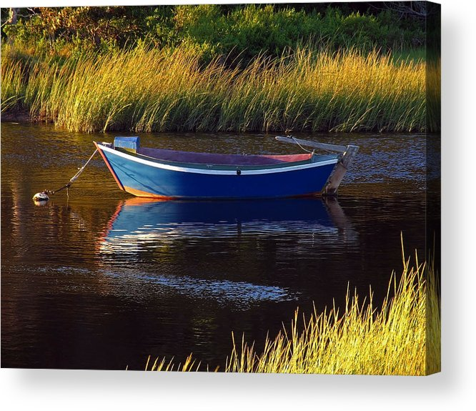 Solitude Acrylic Print featuring the photograph Peaceful Cape Cod by Juergen Roth