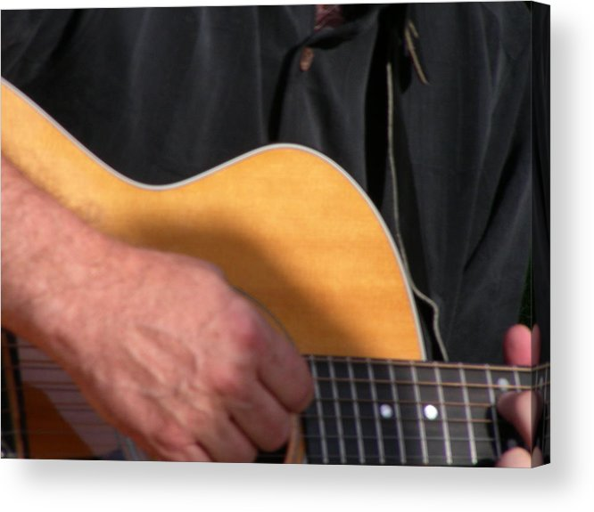 Guitar Acrylic Print featuring the photograph Pickin by Peter McIntosh