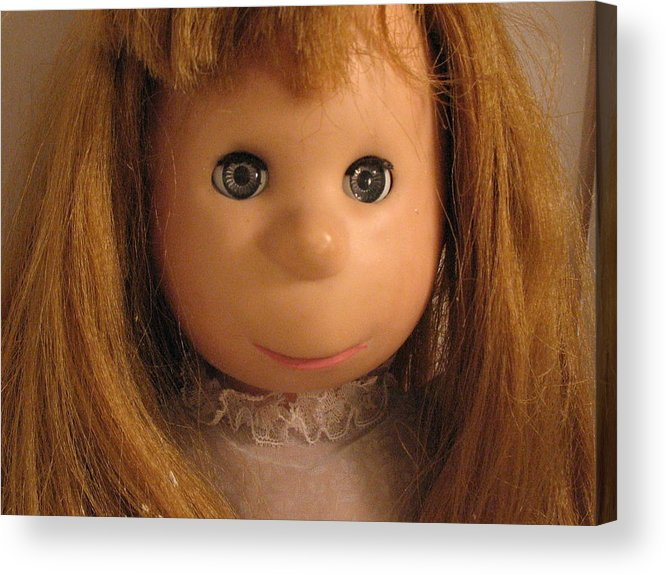 Doll Acrylic Print featuring the photograph Poor Pitiful Pearl by Susie DeZarn