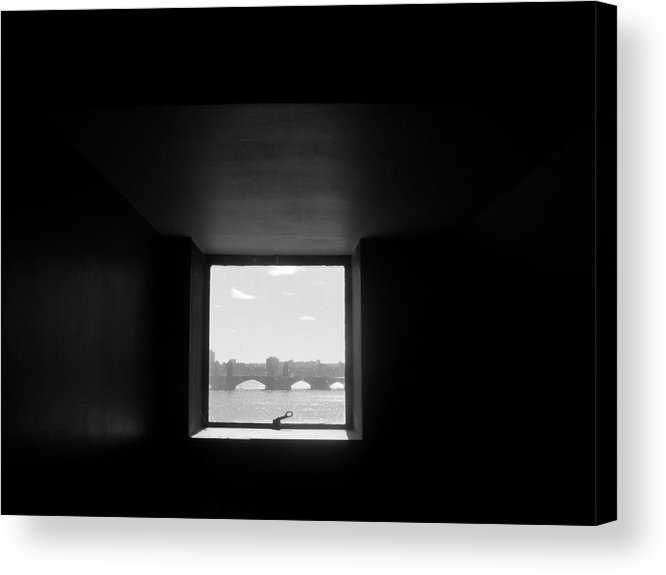Bridge Acrylic Print featuring the photograph Portal 3 by Nancy Ferrier