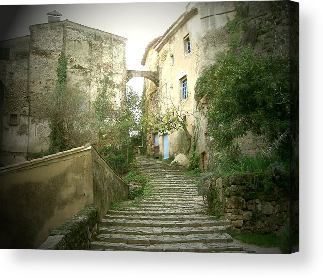 Village Acrylic Print featuring the photograph Provence by Yannick Guerin