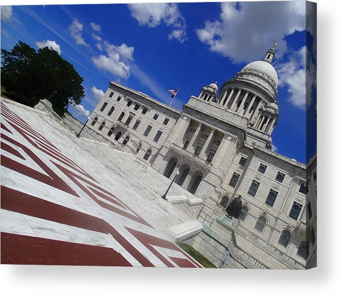 Providence Acrylic Print featuring the photograph Providence by Robert Nickologianis