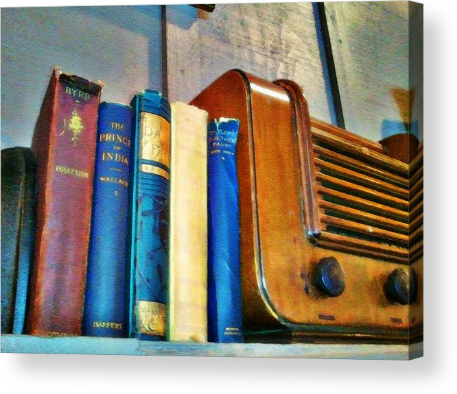 Radio Print Acrylic Print featuring the photograph Radio by Robert Smith