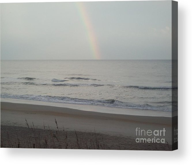 Acrylic Print featuring the photograph Rainbow After Storm by Jared Hester