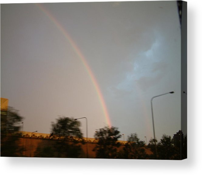 Rainbow Acrylic Print featuring the photograph Rainbow by Gregory Jeffries