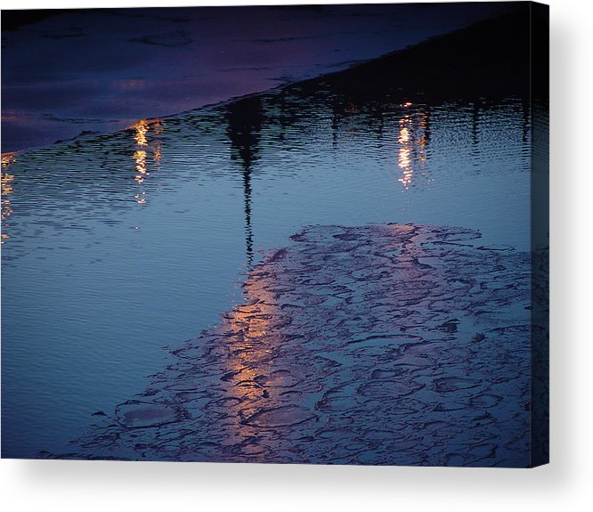 Water Acrylic Print featuring the photograph Reflections by Eric Workman