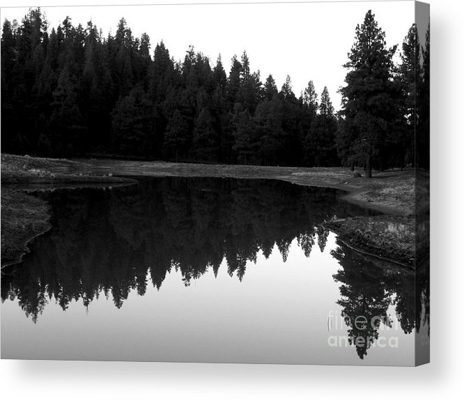 Northern Arizona Acrylic Print featuring the photograph Reflections by Kenneth Hess