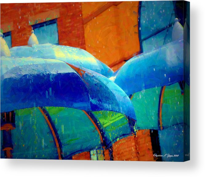 Summer Acrylic Print featuring the photograph Refreshing by Christine S Zipps