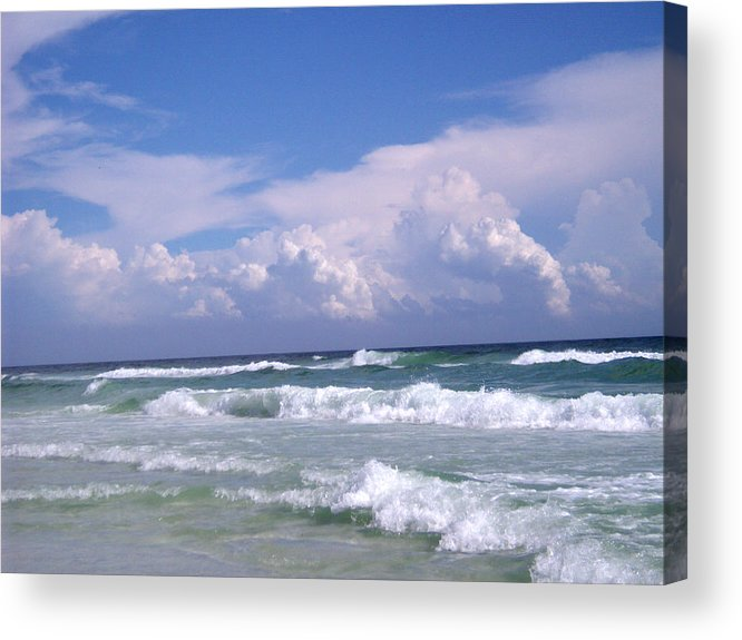 Ocean Acrylic Print featuring the photograph Restless by Nicole I Hamilton