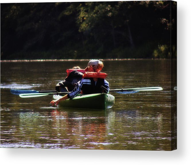 River Acrylic Print featuring the photograph River Float by JAMART Photography