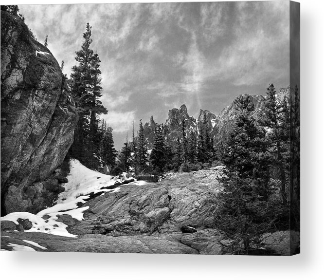 Colorado Acrylic Print featuring the photograph Rocky Mountain Beauty by Marilyn Hunt