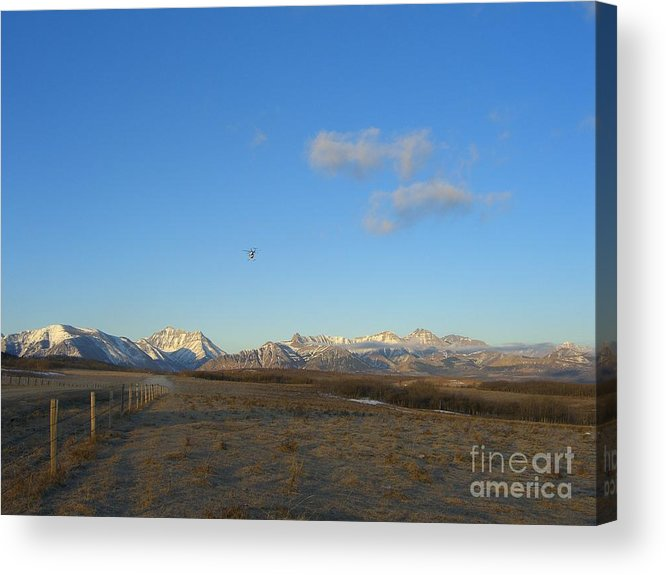 Rockies Acrylic Print featuring the photograph Rocky Mountain High by Jim Thomson