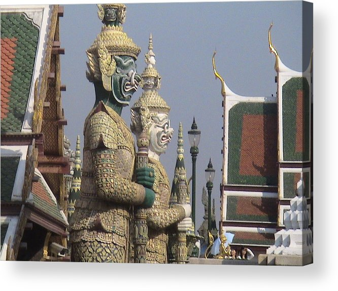 Travel Acrylic Print featuring the photograph Royal Guardians by William Thomas