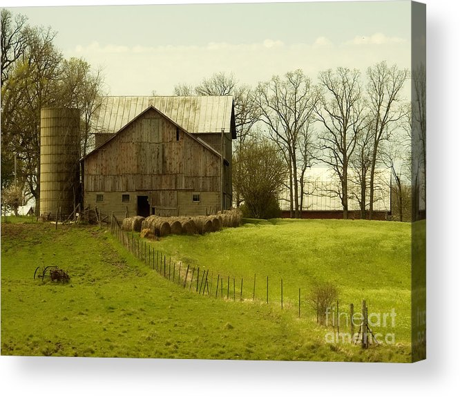 Farms Acrylic Print featuring the photograph Rural Americana-01 by Neil Doren