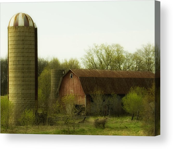 Farm Acrylic Print featuring the photograph Rural Americana-02 by Neil Doren