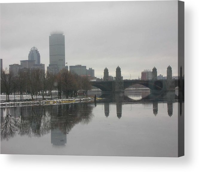 Acrylic Print featuring the photograph Salt And Pepper by Nancy Ferrier
