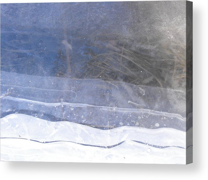 Landscape Acrylic Print featuring the photograph Seams Spring by john Kuti