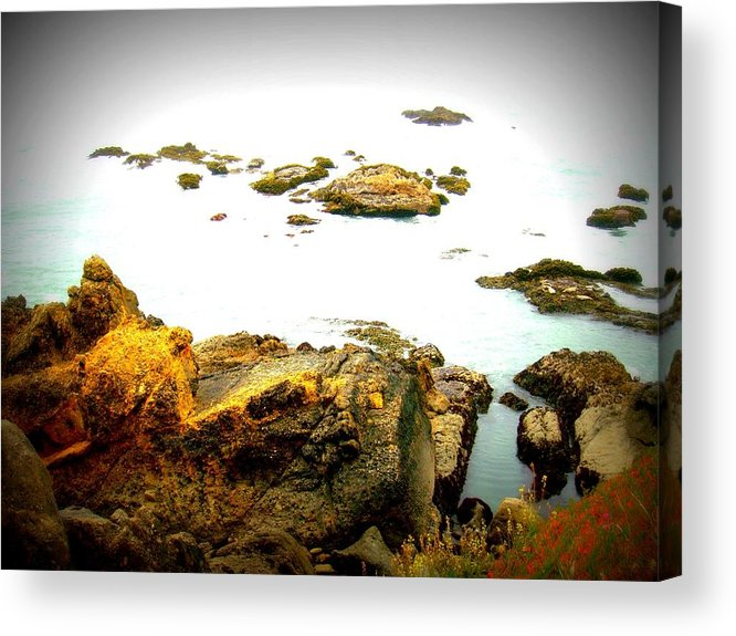 Ocean Acrylic Print featuring the photograph Serenity by Melissa KarVal