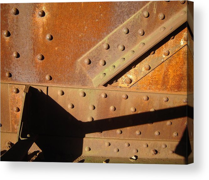 Architectural Acrylic Print featuring the photograph Slow Hand by Dean Corbin