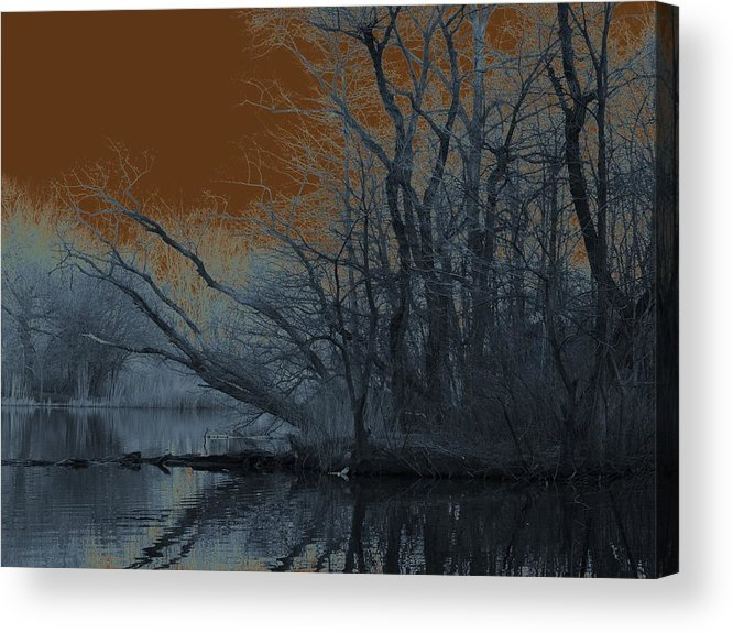 Solarization Acrylic Print featuring the photograph Solarization by Kendall Eutemey