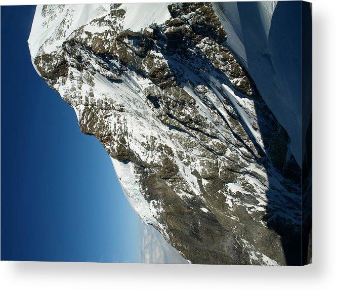 Mountain Acrylic Print featuring the photograph Sphinx Alp by Randall Slinkard