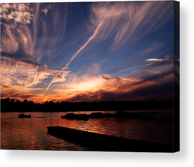 Sky Acrylic Print featuring the photograph Spirits In The Sky by Gaby Swanson