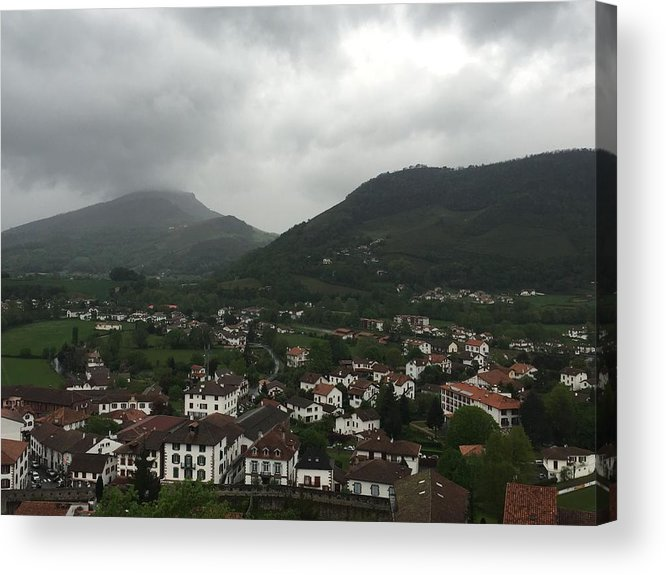 France Acrylic Print featuring the photograph St. Jean Pied De Port by Dani Keating