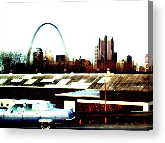 Arch Acrylic Print featuring the photograph St. Louis by Janele Wilson
