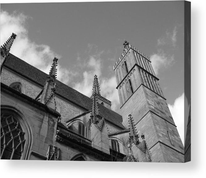 Cathedral Acrylic Print featuring the photograph Steadfast by Dylan Punke
