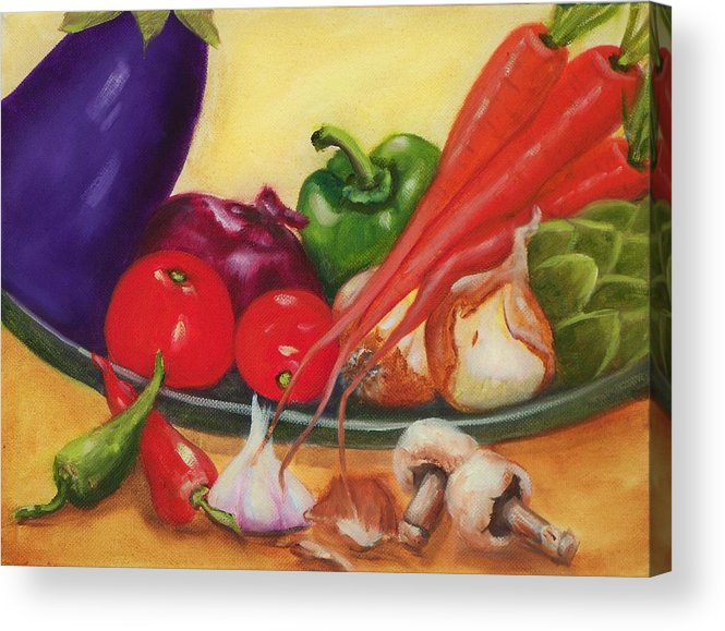 Still Life Acrylic Print featuring the painting Still Life 4 by Joni McPherson