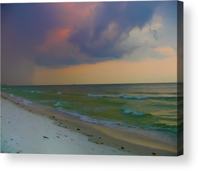 Storm Acrylic Print featuring the photograph Storm Warning by Bill Cannon
