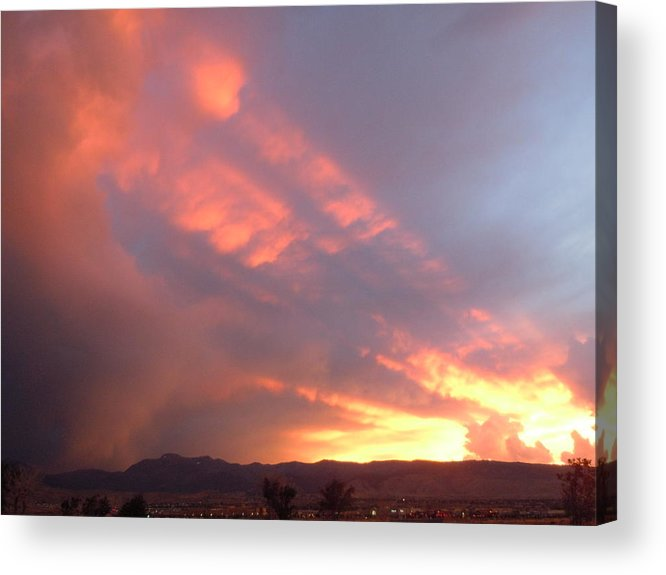 Storm Clouds Acrylic Print featuring the photograph Stormset by Dan Whittemore