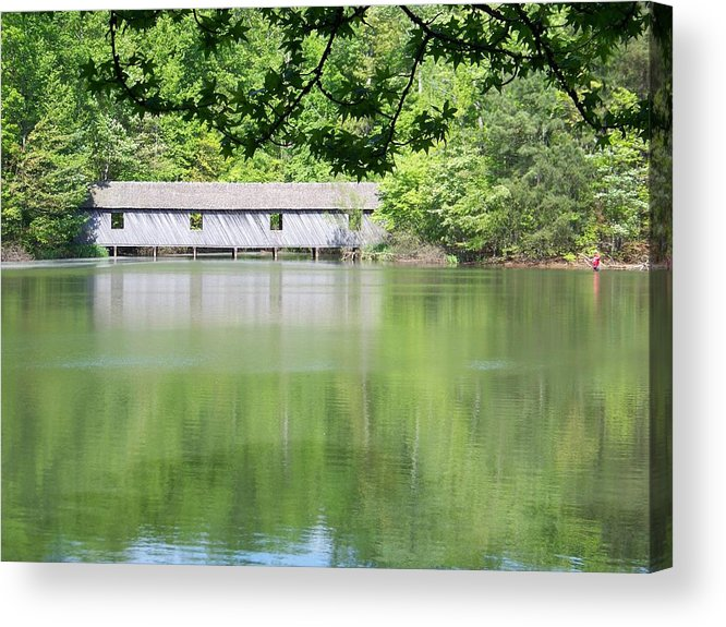 Bridge Acrylic Print featuring the photograph Strength by Jessica Burgett