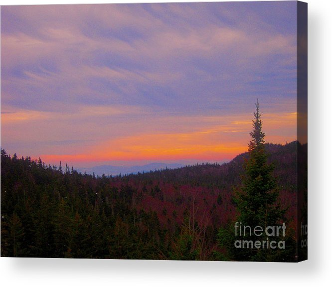 Loon Mountain Acrylic Print featuring the photograph Sublime by Dave Pellegrini