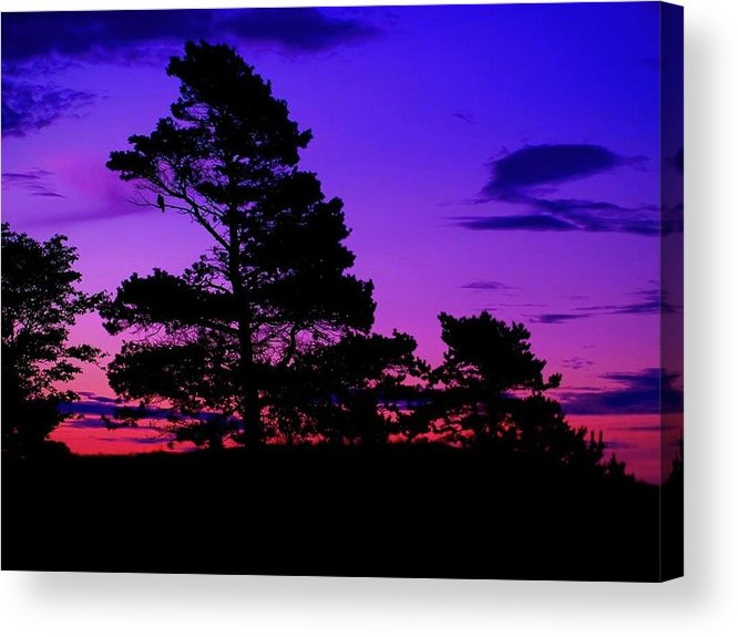 Sunrise Acrylic Print featuring the photograph Sunrise At Point Pleasant Park by Laura Regier