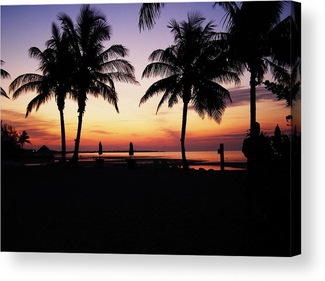 Sunrise Acrylic Print featuring the photograph Sunrise On The Atlantic by Jim Cooper