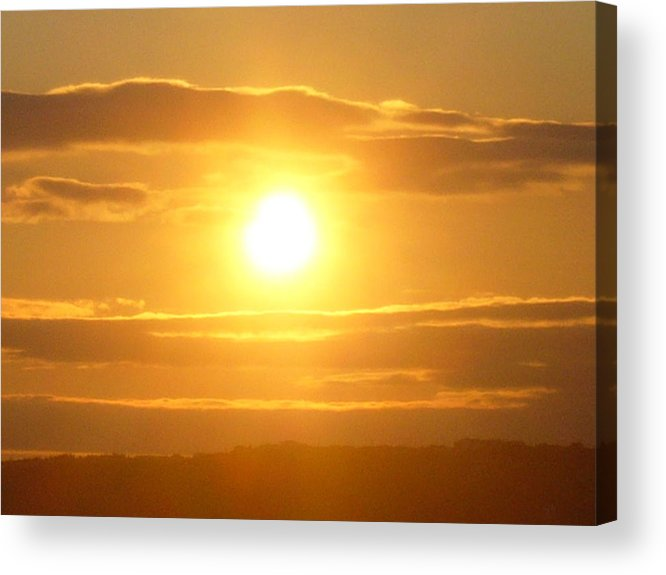 Sunset Acrylic Print featuring the photograph Sunset On The Horizon 3 by Sharon Stacey