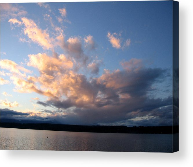 Sunset Acrylic Print featuring the photograph Sunset Two by Ty Nichols