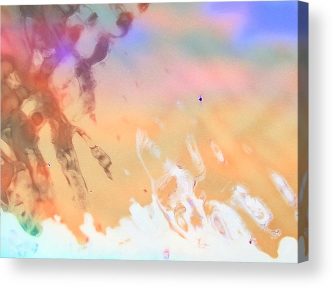 Abstract Acrylic Print featuring the photograph Surprised by Florene Welebny